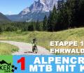 "Alpencross 2016 mit Kind ""42+9"" Ehrwald-Riva - 1 - DER START: ETAPPE 1"