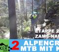 """ETAPPE 2 - Alpencross 2016 mit Kind """"42+9"""" Zams - Nauders"""