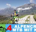 """ETAPPE 4 - Alpencross 2016 mit Kind """"42+9"""" Naturns - Kaltern"""