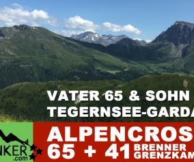 Alpencross Tegernsee - Gardasee