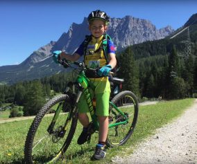 Alpencross mit Kindern